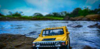 Bil vand
