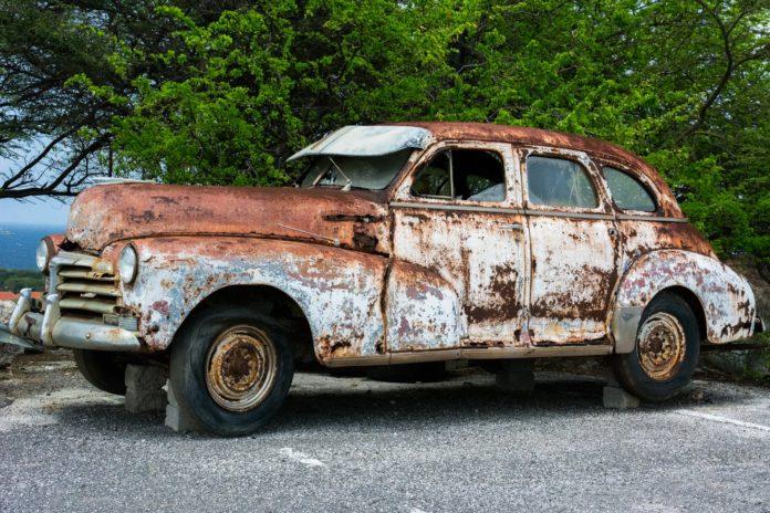 Skrot bil